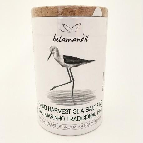 Hand Harvest Sea Salt Fine 500gr. - Belamandil