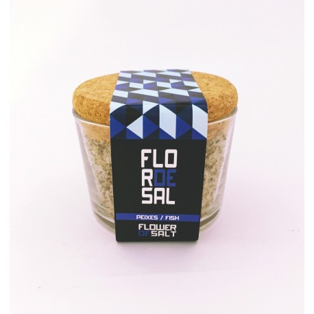 Salt Flower Fish 110gr. - Mudsecrets